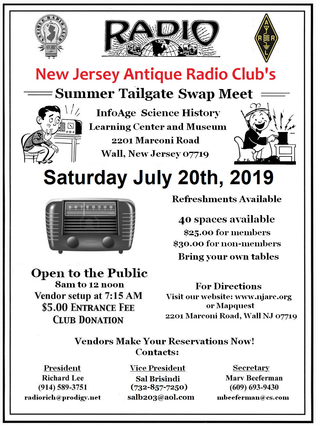 antique radio swap meet nj